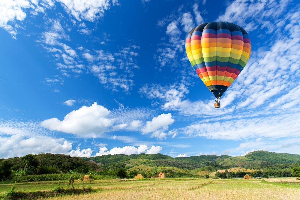 Тоскана на воздушном шаре